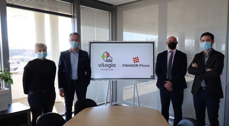 Vilogia Premium et Finanor Phone